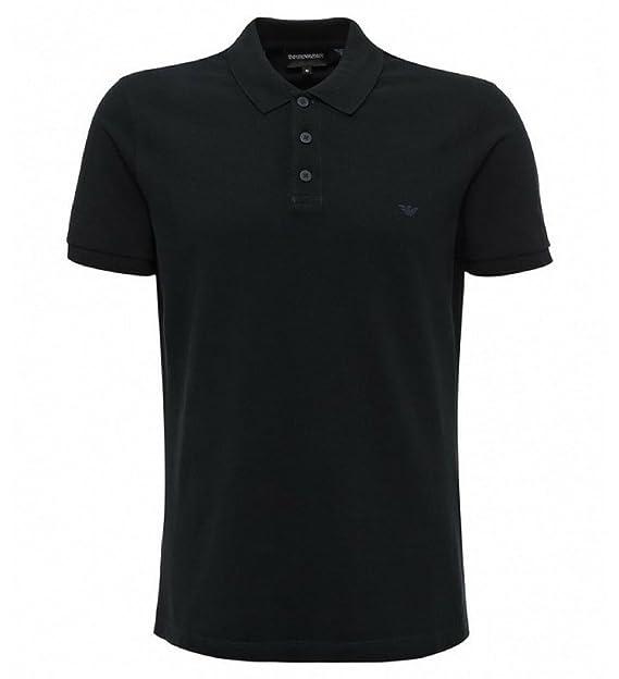 Emporio Armani EA Azul Marino para Hombre Polo Camiseta águila ...