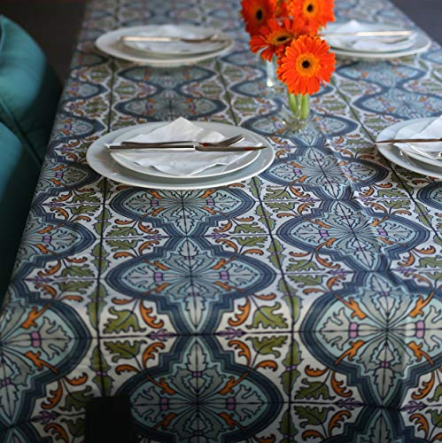 (Coated cotton tablecloth in