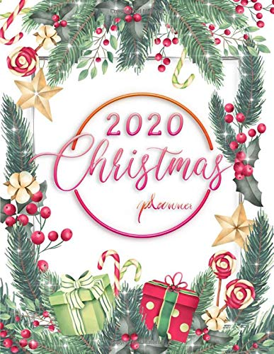 Day Of Christmas 2020 Amazon.com: 2020 Christmas Planner: Month And Weekly Calendars