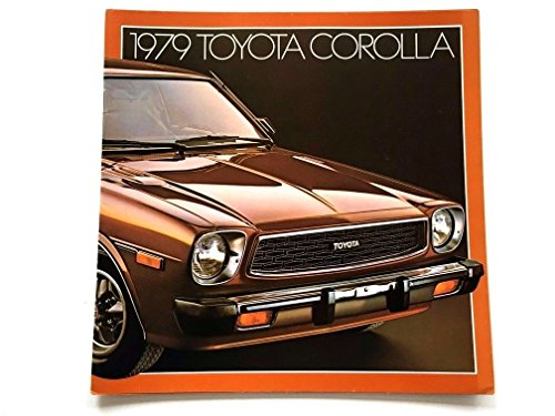 Toyota Corolla Catalog - 1979 Toyota Corolla 22-page Original Car Sales Brochure Catalog - SR-5 Liftback