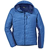 Outdoor Research Men's Cathode Hooded Jacket, Glacier/Baltic, X-Large