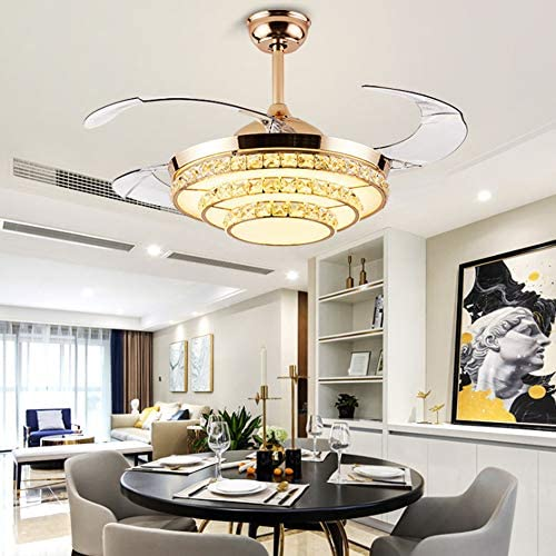 42 Crystal Ceiling Fan