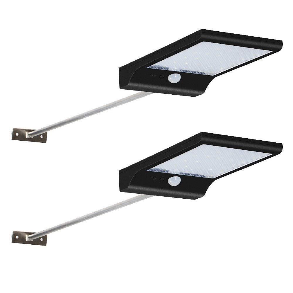 Lámparas Solares, Solar Luces 36 LED Focos Exterior Impermeable con 120 Grados de Angulo Amplio Patio de Sensor de Movimiento Solar Iluminacion para Jardin, Patio, Camino product image