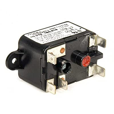 Fan Relay Type 184 24 Vac Coil 50/60 Hz Spdt. Coil Data: 77 Ohms Dc Resistance 125 Ma