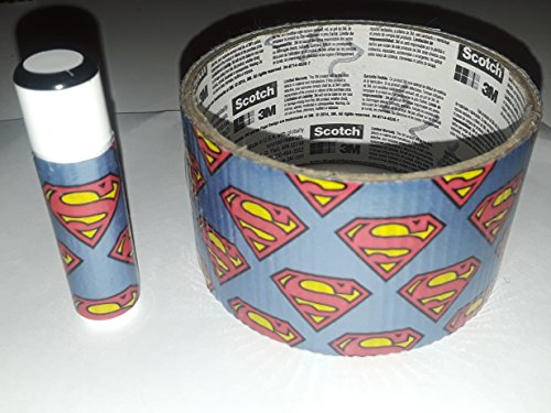 25 Superman Chap Stick Lip Balm twenty five pack pieces BULK by In a Sticky Situation