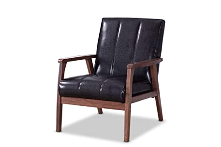 Quick read about Baxton BBT8011A2-Black Chair