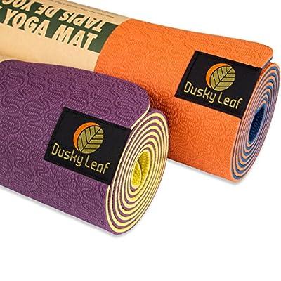 Dusky Leaf TPE Eco Yoga Mat