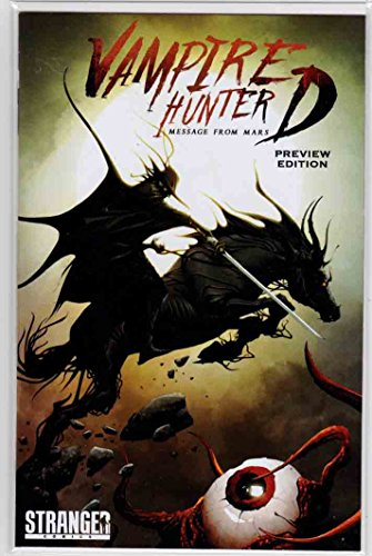 VAMPIRE HUNTER D (2016) Preview Promo NYCC Convention