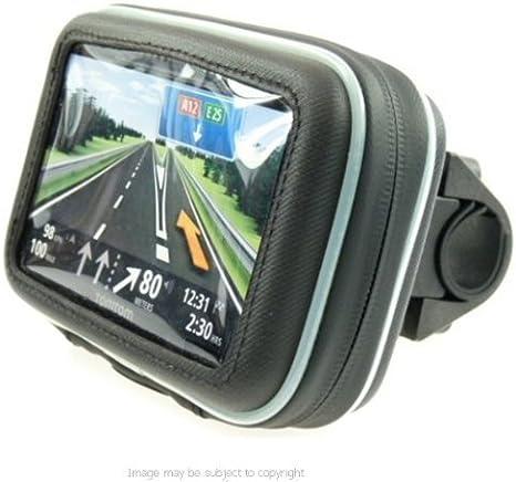 """5/"""" Screen GPS Satnav Waterproof Bike Cycle Handlebar Mount Fits 16mm-33mm"""