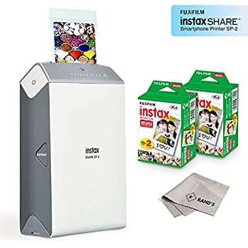 Amazon.com: Fujifilm INSTAX Share SP-2 Mobile Printer (Gold ...