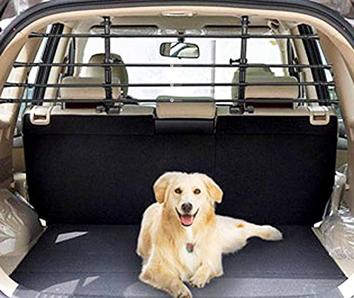 Zone Tech Universal Pet Barrier - Adjustable Mounted Headrest Barrier for Pet Automotive Safety by Zonetech (Image #4)