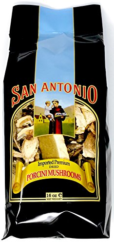 San Antonio 1-Pound Premium Dried Porcini Mushrooms (16-Ounce Bulk Size)