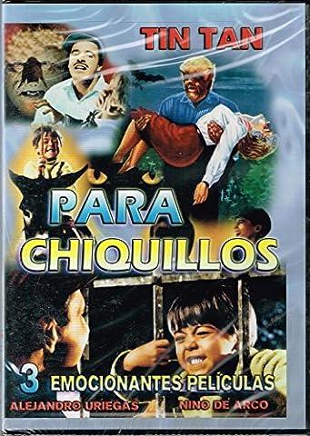 PARA CHIQUILLOS [3 PELICULAS] LA CASA DEL TERROR & EL NINO Y EL LADRON & EL NINO Y LA ESTRELLA [ TIN TAN,NINO DEL ARCO,YOLANDA VARELA,ROGELIO (Peliculas Terror)