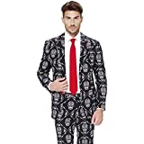 Opposuits Men's Party Costume Suit, Haunting Hombre, 44