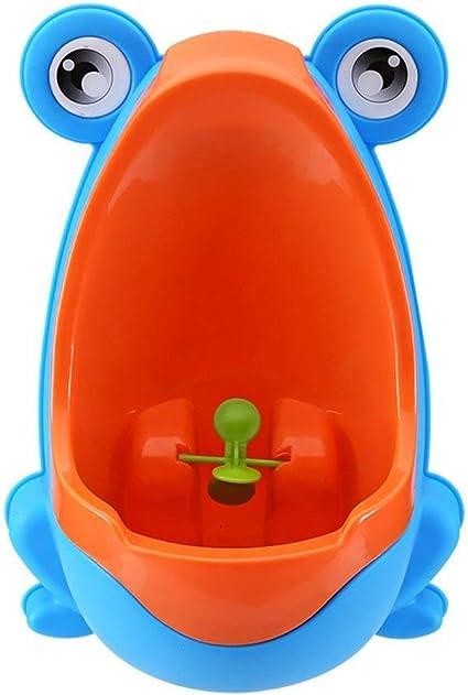 Grenouille Pot Wall-Hanging debout Urinoir S/éparation solide Ventouse WC pour gar/çon Pee Trainer
