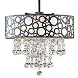 17 in. Sparkling Crystal Chandelier Review