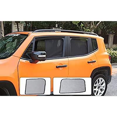 Bwen Fit for 2016 2020 2020 2020 Jeep Renegade Car Window Shade(7 pcs) Magnetic Car Sun Shade for Windows UV,Sun,Glare Peotection Anti-Mosquito for Your Baby: Automotive