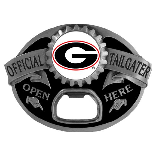 Georgia Bulldogs Tailgater Buckle