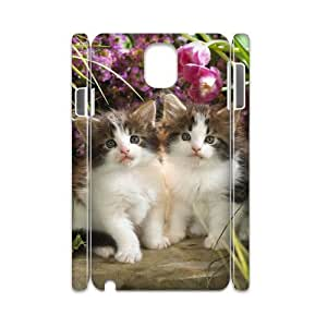 Customized Case for Samsung galaxy note 3 N9000 3D - Lovely cat ( WKK-R-86679 )