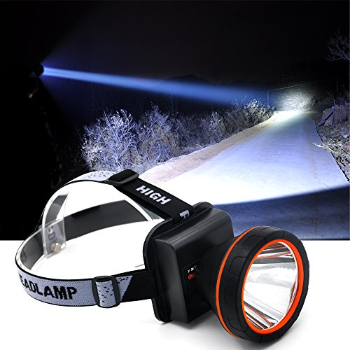 Anlook LED Super Bright Headlamp Rechargeable Torch Outdoor Headlight for Camping Hunting Fishing Flashlight Hunting Headlamp