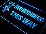 Thai Restaurant This Way Food LED Sign Neon Light Sign Display j706-b(c)