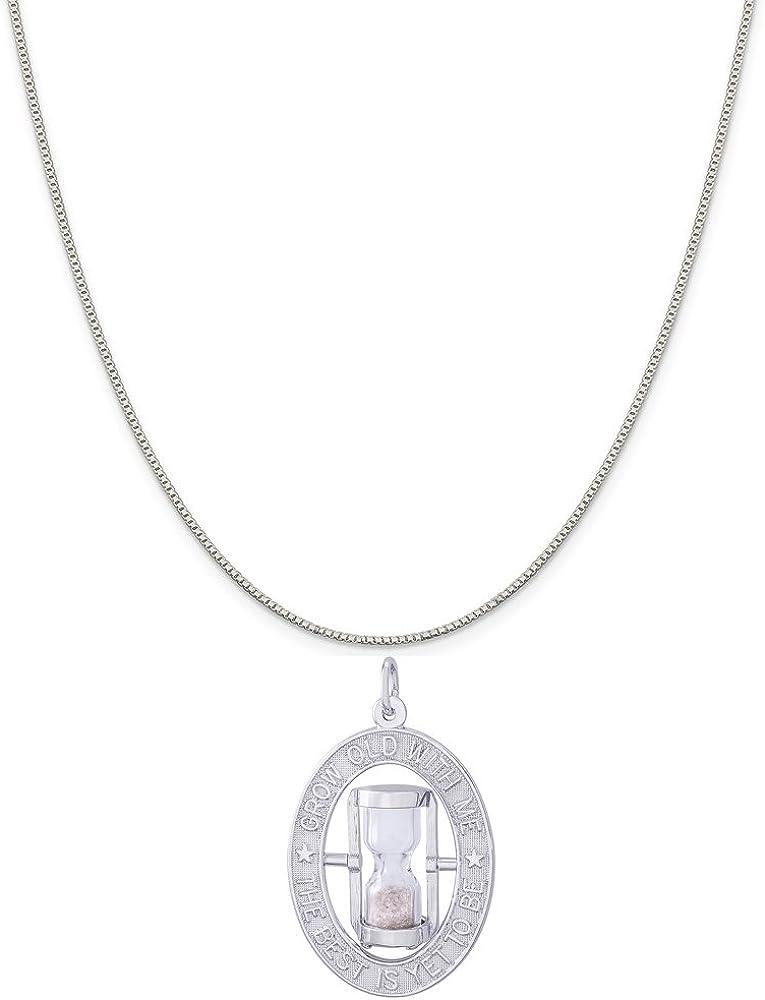 Rose Gold Genuine 925 Sterling Silver Scissor Pendant Black Rope Chain Necklace