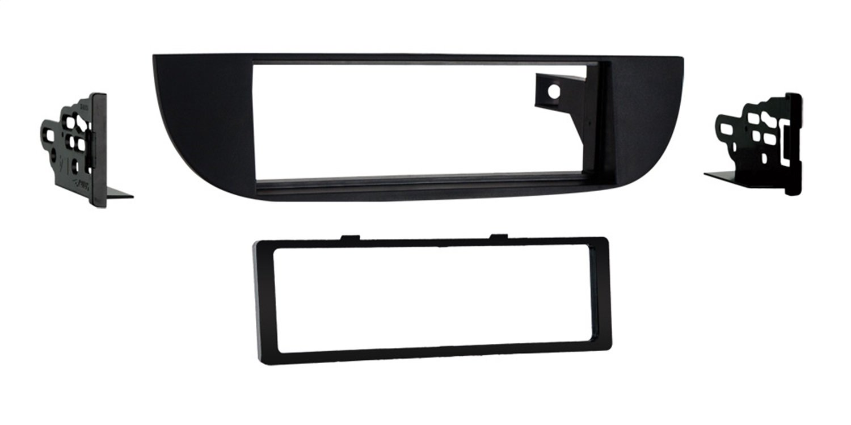 Metra 99-6515B Single DIN Dash Kit for Fiat 500 2012-Up, Black Metra Electronics Corporation