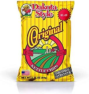 product image for Dakota Style Kettle Chips, Original, 2.25 Ounce (Pack of 12)