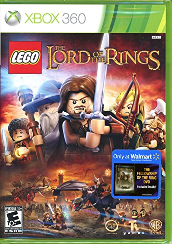 LEGO Lord of the Rings - Xbox 360 [Xbox 360] with Bonus Lord of the Rings Fellowship of the Ring DVD