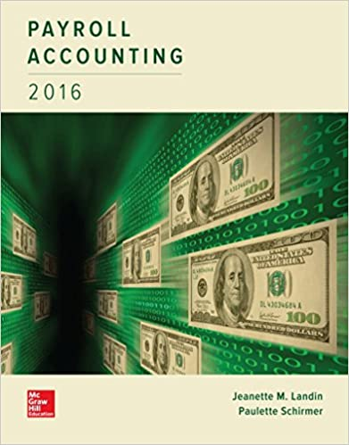 Payroll accounting 2016 jeanette landin paulette schirmer dba payroll accounting 2016 2nd edition fandeluxe Gallery