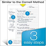 TOPS 8-1/2 x 11-3/4 Inches, Cornell Rule Legal
