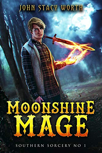Moonshine Mage Cover