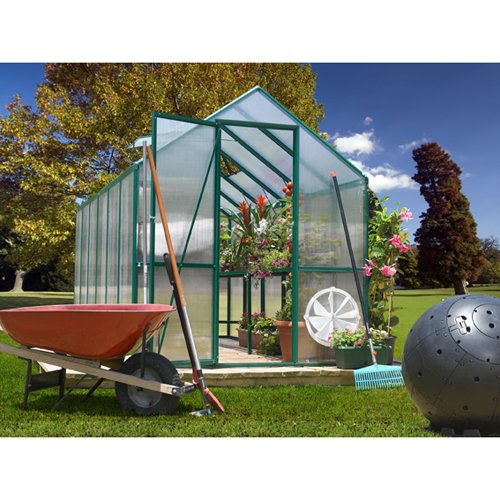 SYSTEMS TRADING CORP STC Easy Grow Greenhouse, 6 by 12-Feet