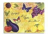 Divinity Boutique 23645 Bella Vita Large Cutting Board, Multicolor
