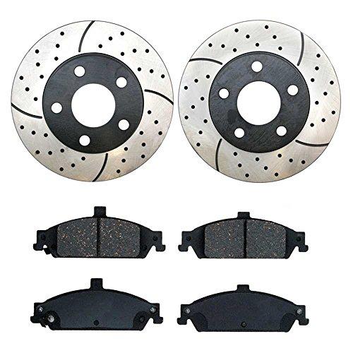 02 pontiac grand am front rotors - 9