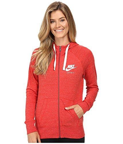 NIKE Women's Sportswear Gym Vintage Hooded Sweatshirt Plus Sizes 924086 657 (X-Large)