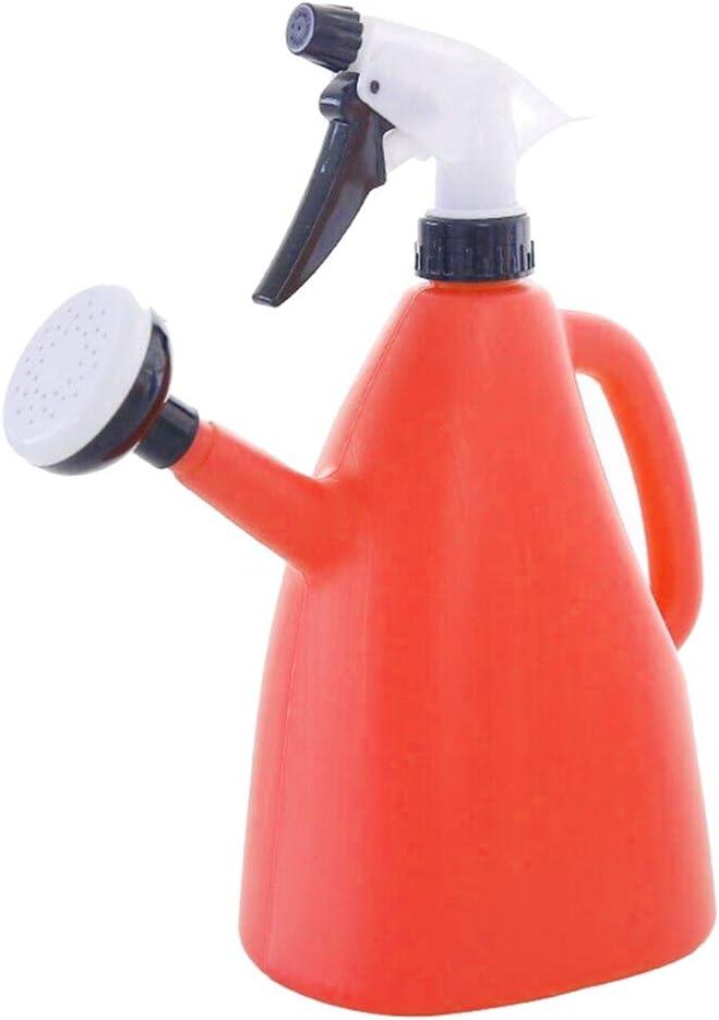 Fengstore - Regadera de plástico para jardín, Naranja 1L.
