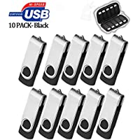 8GB Flash Drive 10 Pack, USB Flash Stick with...