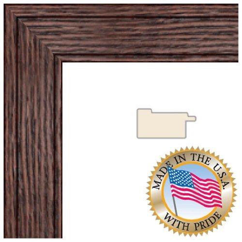(ArtToFrames 20x25 inch Walnut Stain on Oak Wood Picture Frame, 2WOM0066-80206-YWAL-20x25)