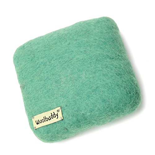 Woolbuddy Needle Felting 100% Woolen Mat (Teal) by Woolbuddy
