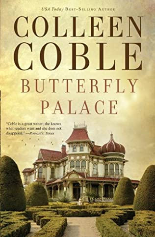 book cover of Butterfly Palace