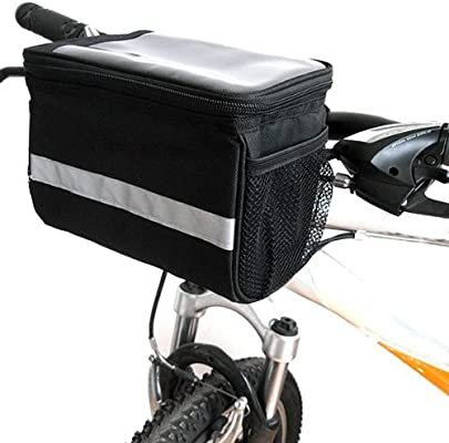 SODIAL(R) Alforja Bolsa para Bici MTB Ciclismo Porta Moviles ...