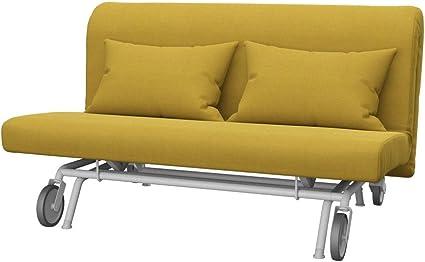 Divano Letto Ps Ikea.Soferia Fodera Di Ricambio Per Ikea Ps Divano Letto A 2 Posti Tela Elegance Dark Yellow Giallo Amazon It Casa E Cucina