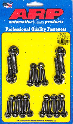 ARP 140-1802 Oil Pan Bolt Kit (Oil Pan 6pt Mopar 5.7L/6.1L Hemi) (1802 Oil Pan Bolts)