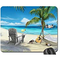 MARGARITAVILLE Mouse Pad, Mousepad (Beaches Mouse Pad) by Rock Bull