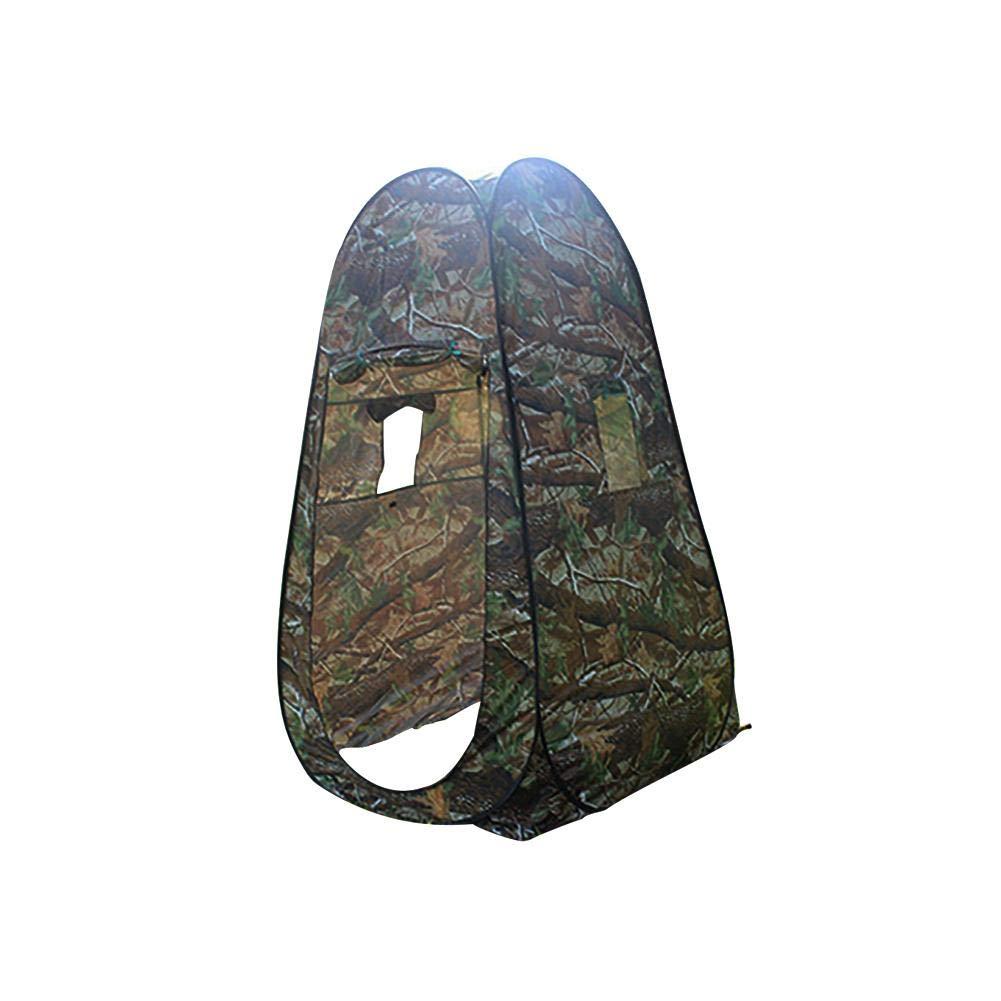 Camping Duschzelt Outdoor Mobile Toilette Umkleidekabine Lagerzelt Ohne Zeltboden Und Haube,wasserabweisend luckything Tragbar Pop Up Toilettenzelt Umkleidezelt