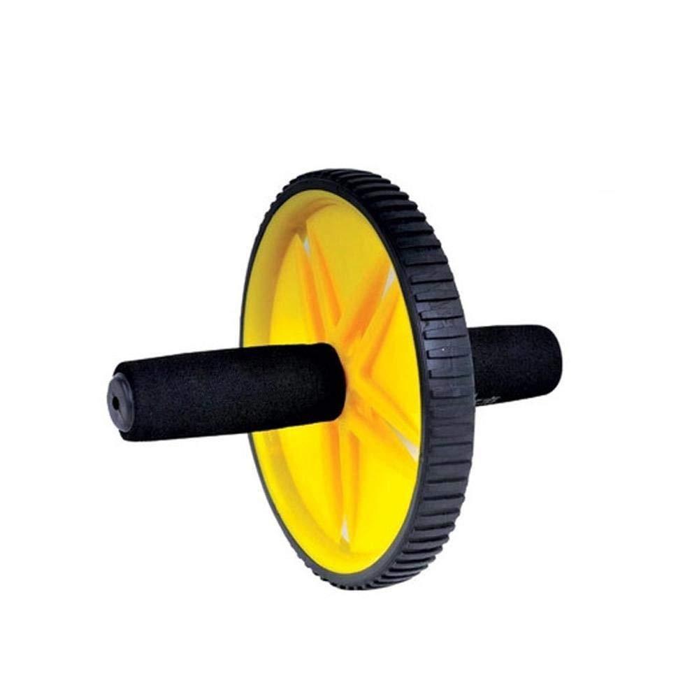 Olydmsky Wheel Bauchtrainer Eine Einzige Doppel-Rädern Gesundheit Bauch mit abdominalen Rad und Abdominal-Roll