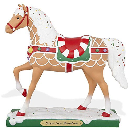 The Trail of Painted Ponies Sweet Treat Round Up Christmas Pony Horse Figurine (Own Pony Figurine)