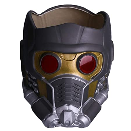 HUIHONG Guardianes De La Galaxia Star-Lord Casco Máscara ...