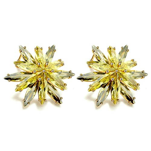Stainless Steel 12mm Screw Head Studs Earrings (Gold Plated) - 8
